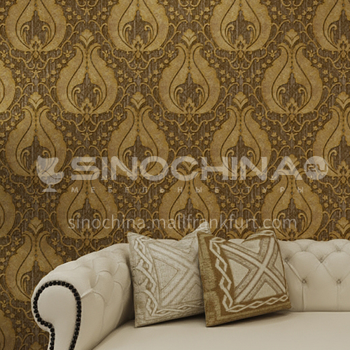 Waterproof and mildew proof living room bedroom wallpaper Classical style Wallpaper 726 Wall decoration