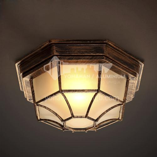 American country ceiling lamp creative retro industrial style bar corridor aisle porch balcony restaurant ceiling lamp WYN- 2461-X1