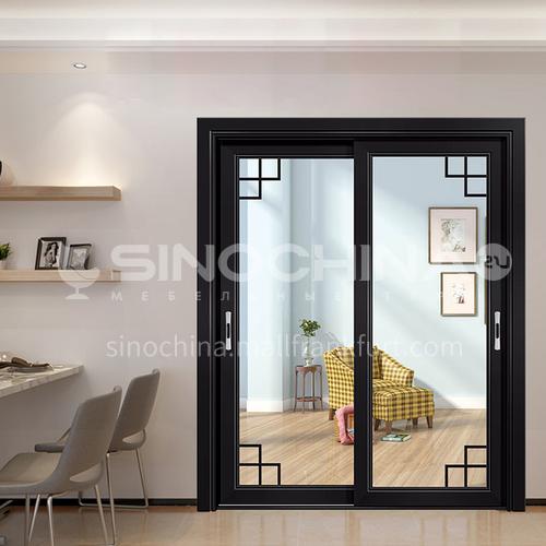 1.4mm aluminum alloy modern simple light luxury soundproof sliding door