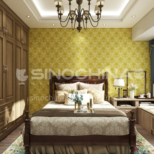 Wallpaper,PVC Wallpaper,Waterproof, Wall decoration,European classical style, MK920101-MK920108
