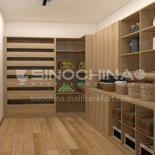 Modern style simple design melamine with particle board locker GF-018