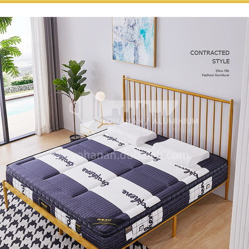 BC-T28- High-grade jacquard knitted fabric, oxygen-activated cotton, breathable latex, independent spring, no deformation, high-density sponge, comfortable and skin-friendly mattress