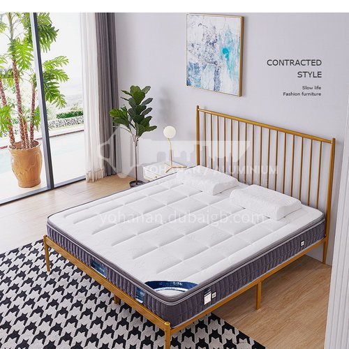 BC-T31- High-grade jacquard knitted fabric fabric, oxygen-activated cotton, breathable latex, independent spring, no deformation, high-density sponge, comfortable and skin-friendly mattress