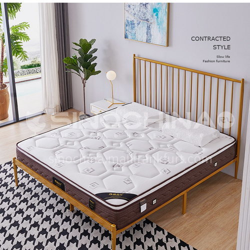 BC-T32- High-grade jacquard knitted fabric, oxygen-activated cotton, breathable latex, independent spring, no deformation, high-density sponge, comfortable and skin-friendly mattress