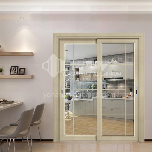 1.4mm aluminum alloy modern minimalist light luxury soundproof sliding door 4
