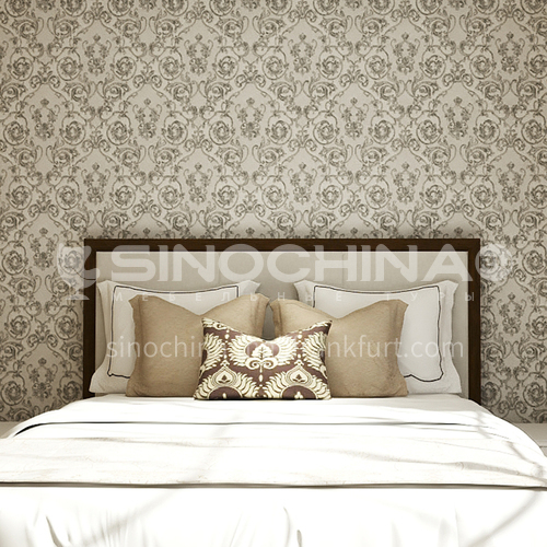 Waterproof and mildew proof living room bedroom wallpaper Classical style Wallpaper 731 Wall decoration