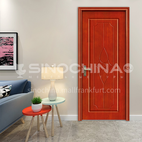 Best Price Simple Swing Office apartment house Residential interior Oak Wood Door 76