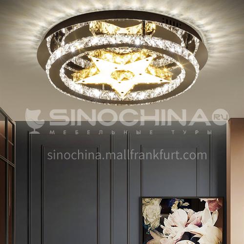 Bedroom lamp romantic led star crystal ceiling lamp modern lamp LG-X133