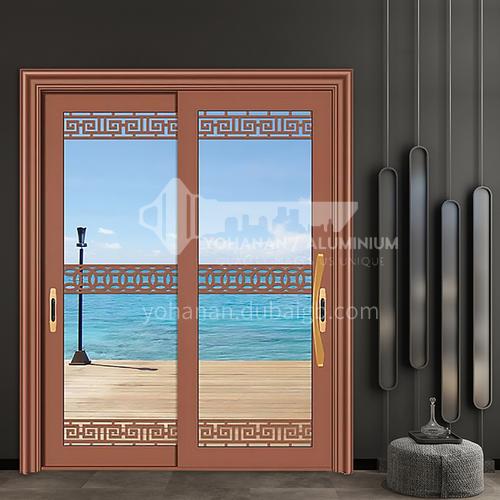 1.4mm aluminum carved aluminum sliding door