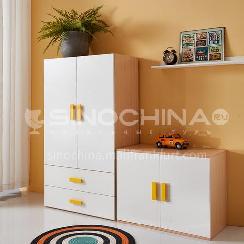 XDD-3309- Nordic minimalist style, solid wood wardrobe, high top cabinet, closet storage, storage cabinet, Nordic minimalist wardrobe