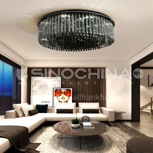 Modern light luxury living room crystal lamp led ceiling lamp modern bedroom living room lamp GD-1274