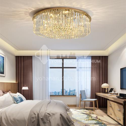 Round LED ceiling lamp crystal lamp modern lamp restaurant bedroom hall lamp GD-1273