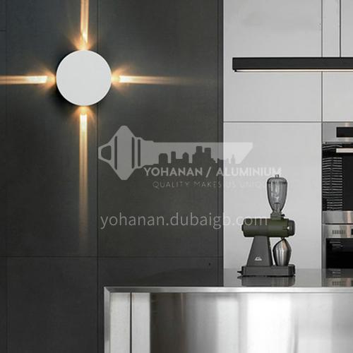 LED outdoor wall lamp outdoor corridor aisle waterproof simple modern wall lamp YYHW 8004-8006