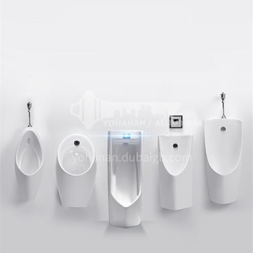 Intelligent induction urinal men's urinal ceramic urinal wall-mounted toilet toilet urina