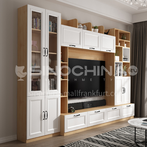 European style TV cabinet high density board blister-GF-039