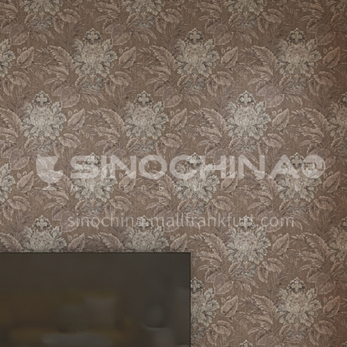 Waterproof and mildew proof living room bedroom wallpaper Classical style Wallpaper 656 Wall decoration