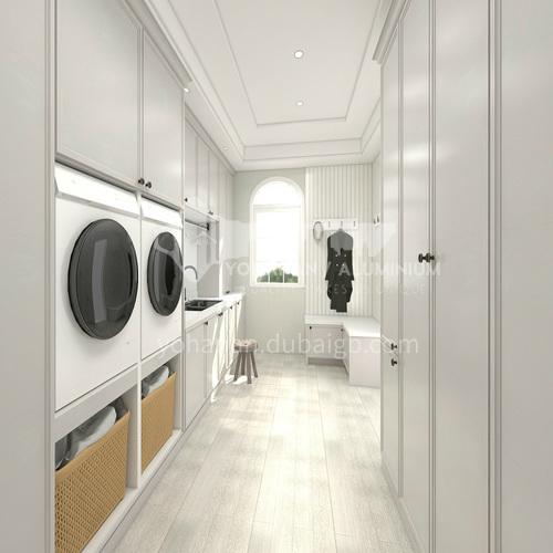 High-density board blister moisture-proof laundry cabinet-GF-005