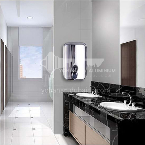 High quality 304 stainless steel soap dispenser/ three different size