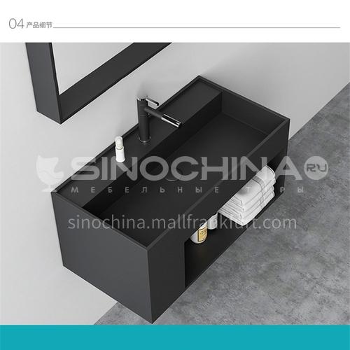 Artifical stone bathroom cabinet     wall-hung basin  DP919