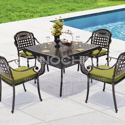 JOZL-TY052 outdoor table and chair classical style, waterproof and durable