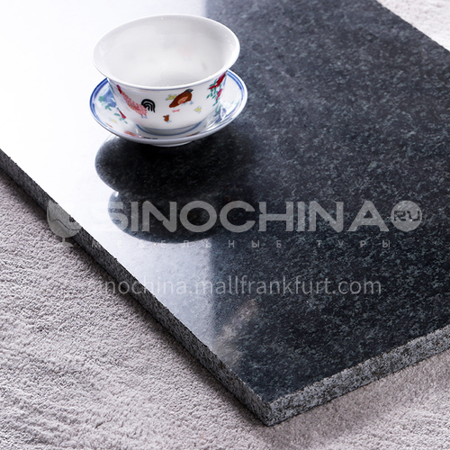 High-end modern style outdoor natural black granite G-GA96H