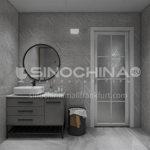 Cement tile antique tile gray ceramic tile living room balcony dining room ceramic tile 600mm*1200mm 61229-T