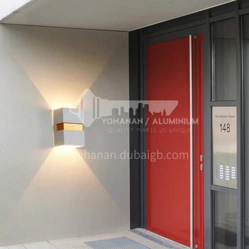 LED waterproof outdoor entrance wall light balcony aisle light modern minimalist outdoor staircase lighting-YY-8076