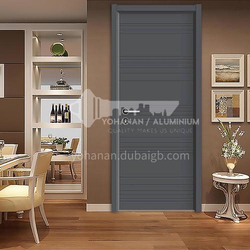 Modern apartment interior wooden door student bedroom bathroom engineering door 4