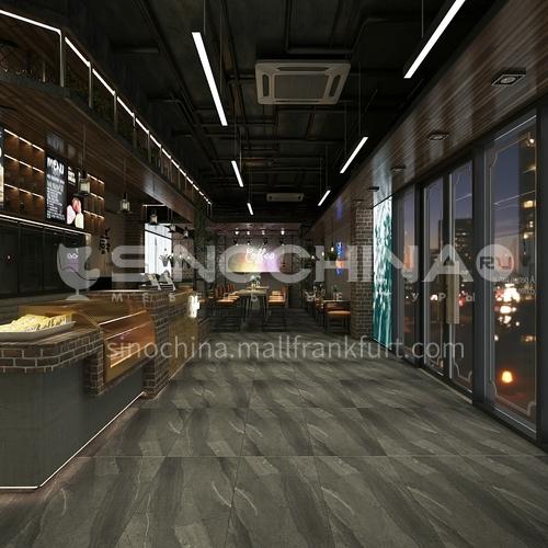 Cement tile antique tile gray ceramic tile living room balcony dining room ceramic tile 600mm*1200mm 61255-T6