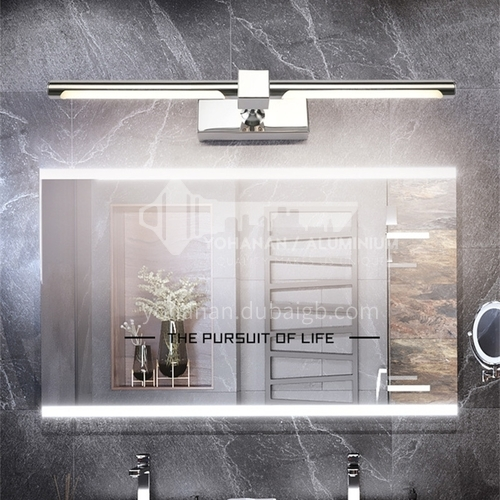 Bathroom Mirror Cabinet Simple American Dressing Table LED Mirror Front Light-JS-7720