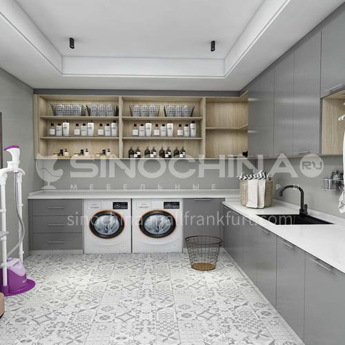 Moisture-proof material UV high density board baking varnish laundry cabinet-GF-011