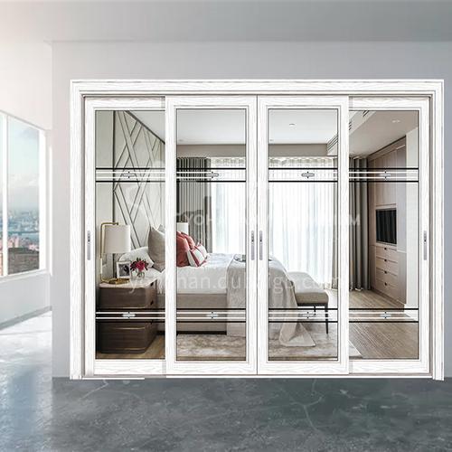 1.4mm aluminum alloy simple style two-track sliding door kitchen sliding door balcony door 11