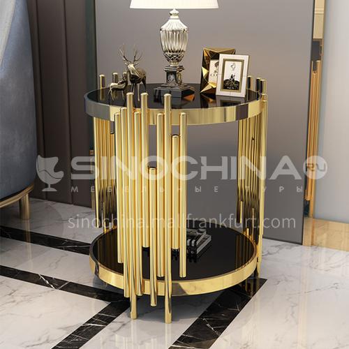Marble Stainless Steel  Side Table Nordic  Luxury  Modern