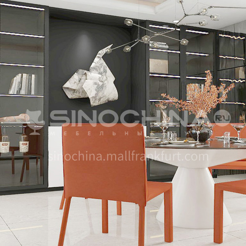 2020 Hottest selling tempered glass sideboard GF-014