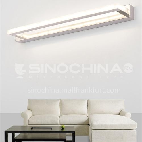 Acrylic mirror cabinet light LED Nordic minimalist bathroom light hotel bathroom mirror front light JS-7100