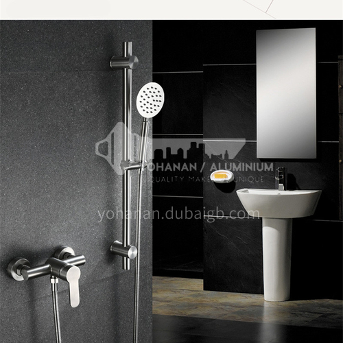 304 stainless steel shower bracket lifting rod shower bathroom rain shower nozzle base fixed rod