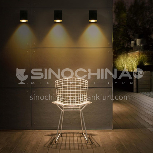 Outdoor led wall lamp creative modern minimalist balcony aisle wall lamp-YY-8090-8092