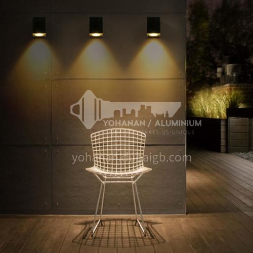Outdoor led wall lamp creative modern minimalist balcony aisle wall lamp-YY-8090-8092