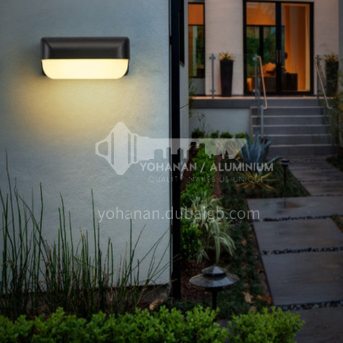 Led outdoor up and down light wall lamp door exterior wall outdoor waterproof courtyard lamp balcony aisle sun room moisture-proof lamp-YY-8095