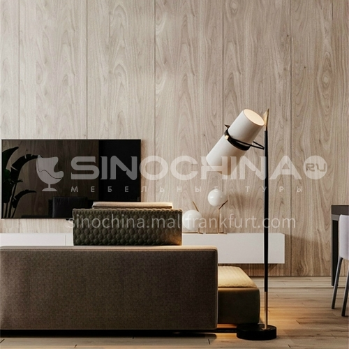 Modern creative hardware living room floor lamp art bedside bedroom black floor lamp-YDH-6093
