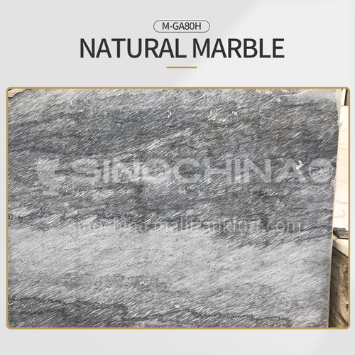 Modern light luxury gray natural marble M-GA80H