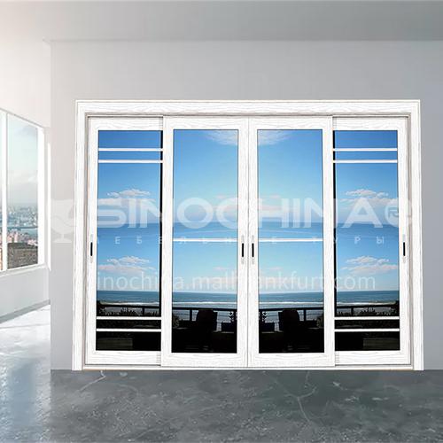 2.0 mm 100 series heavy duty modern style aluminum alloy sliding door