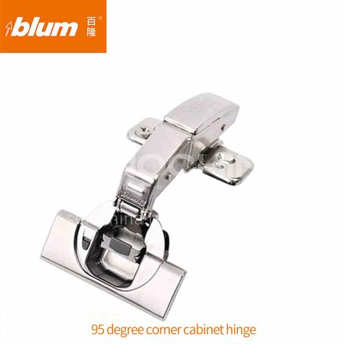 Blum soft closing fixed base damping buffer hinge (79B9550.25MB+P CNS2BCOR) GH-013