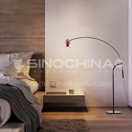 Modern creative living room floor lamp American art bedside bedroom floor lamp YDH-6057
