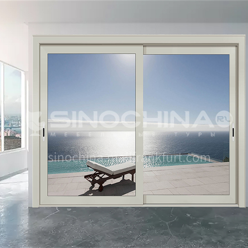 1.6mm aluminum alloy sliding door gray heavy sliding door