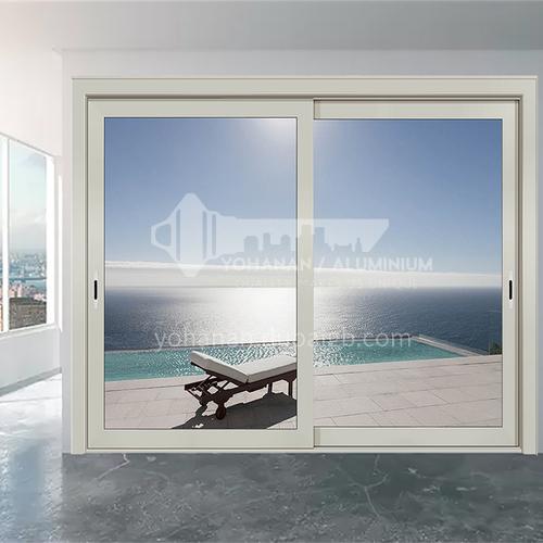 1.6mm aluminum alloy sliding door gray heavy sliding door