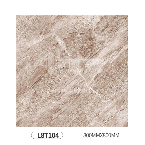 Simple and modern style whole body polished glazed floor tiles-L8T104 800mm*800mm