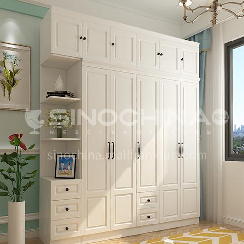 European style PVC with HDF classical wardrobe-GW-190