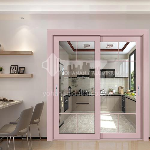 1.2mm aluminum alloy soundproof sliding door double tempered glass balcony door kitchen door 5