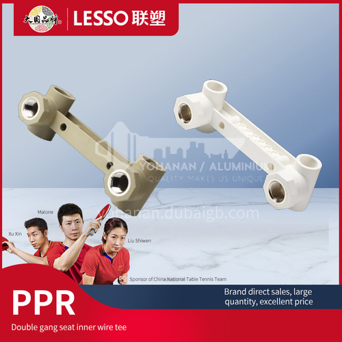 Double Female Tee With Seat (PP-R Water Pipe Fitting)